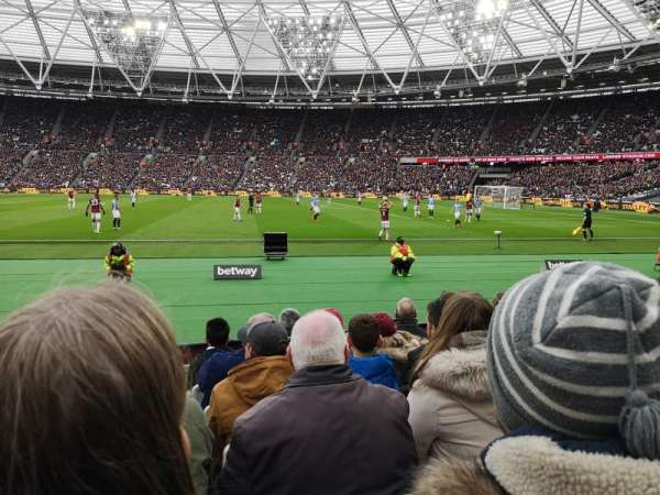 London Stadium, section: 110, row: 6, seat: 263