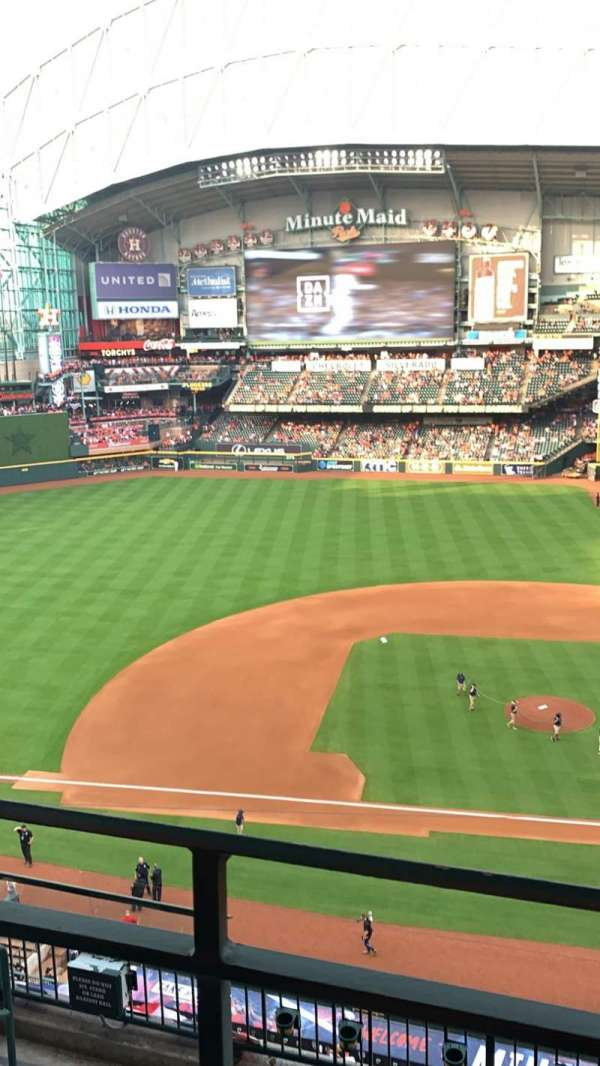 Minute Maid Park, section: 314, row: 5, seat: 3