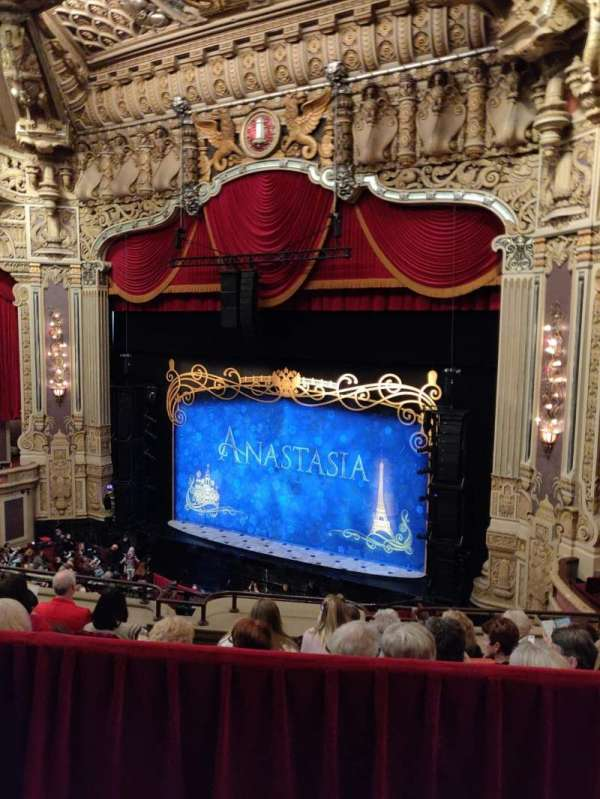 James M. Nederlander Theatre, section: Balcony R, row: E, seat: 360