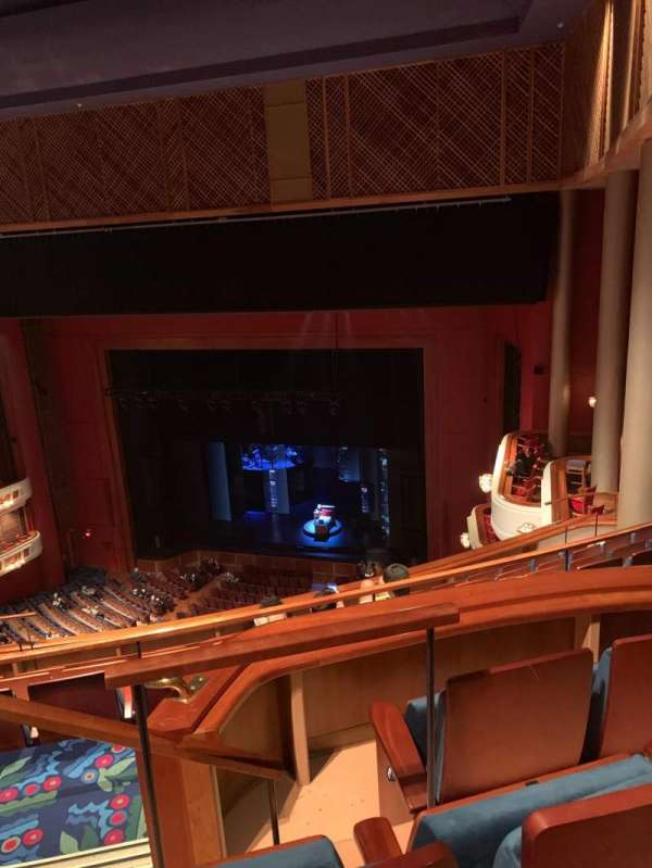 Au-Rene Theatre at the Broward Center, section: Balcony R, row: G, seat: 2