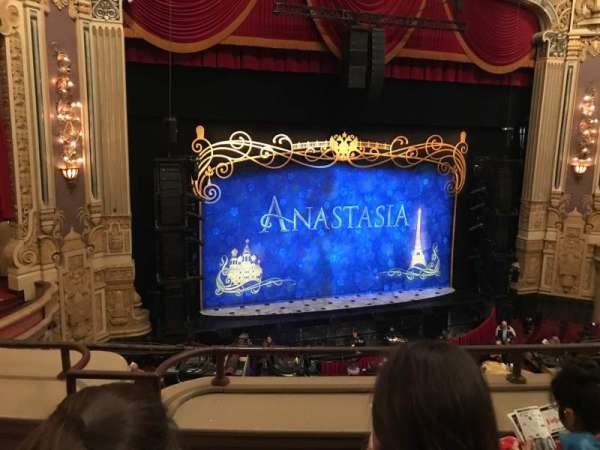 James M. Nederlander Theatre, section: Loge LC, row: C, seat: 339