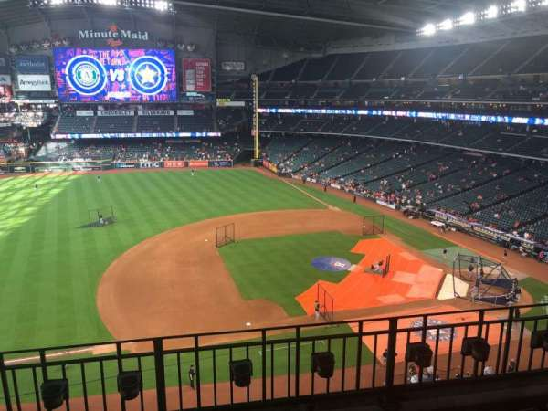 Minute Maid Park, section: 311, row: 3, seat: 16