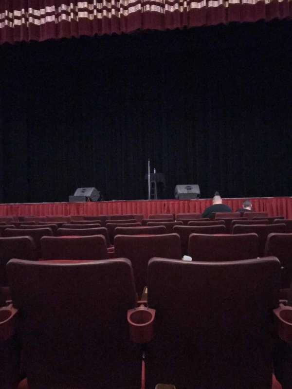 F.M. Kirby Center, section: ORCHESTRA CENTER, row: G, seat: 203