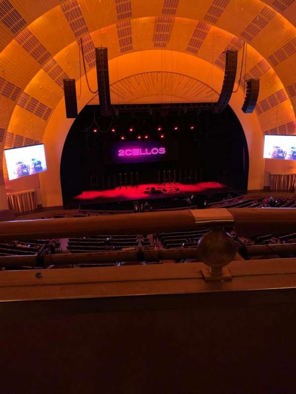 Radio City Music Hall, section: 2nd mezzanine 5, row: A, seat: 512