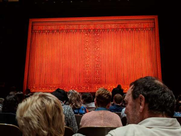 Keller Auditorium, section: Orchestra C, row: F, seat: 7