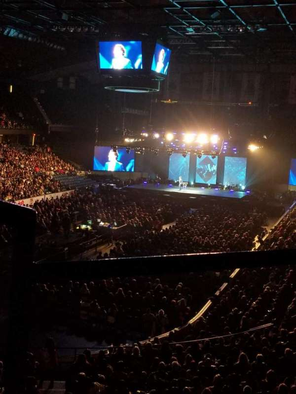 Allstate Arena, section: 213, row: B, seat: 1