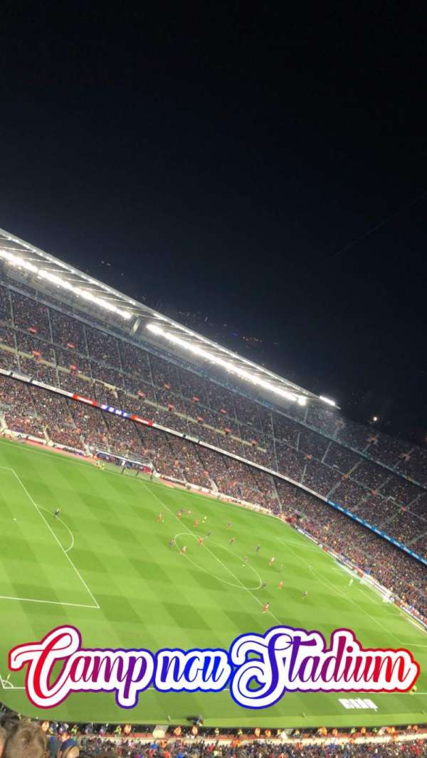 Camp Nou, section: 428, row: 14, seat: 17