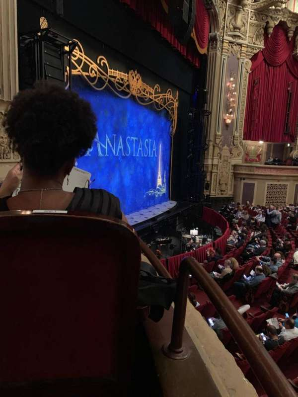 James M. Nederlander Theatre, section: Dress Circle L, row: CCC, seat: 1-2