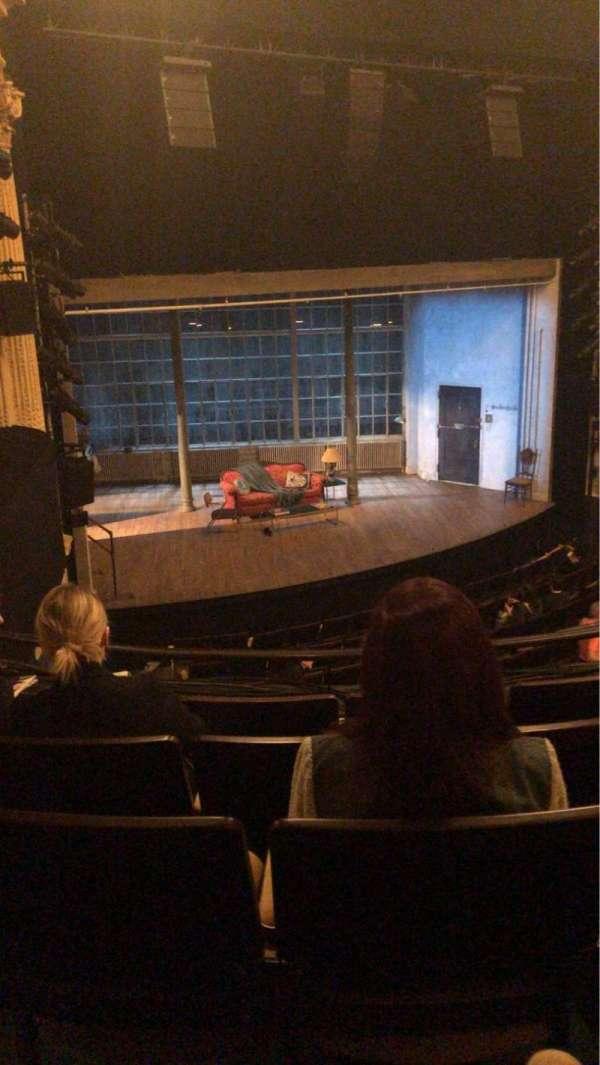 Hudson Theatre, section: Dress Circle L, row: E, seat: 13