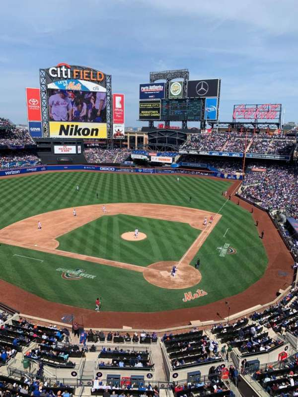 Citi Field, section: 417, row: 1, seat: 11