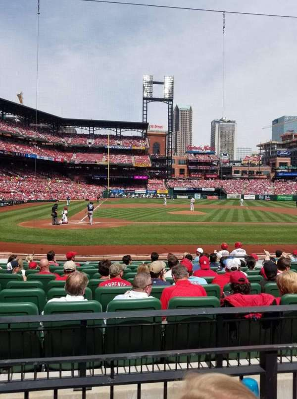 Busch Stadium, section: 146, row: 2, seat: 1