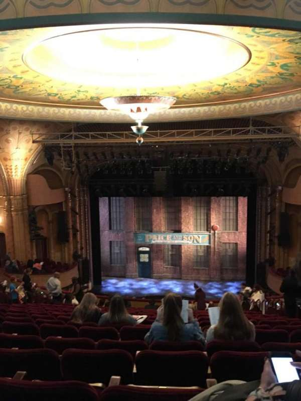 Al Hirschfeld Theatre, section: Mezzanine C, row: S, seat: 105
