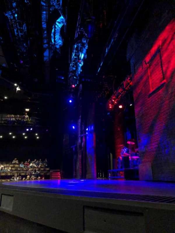 Gillian Lynne Theatre, section: Stalls, row: B, seat: 25