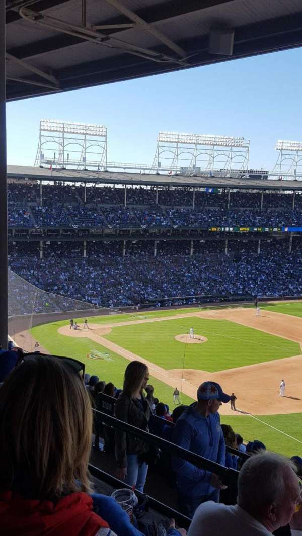 Wrigley Field, section: 429R, row: 3, seat: 9