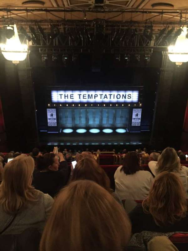 Imperial Theatre, section: Mezzanine, row: D, seat: 112
