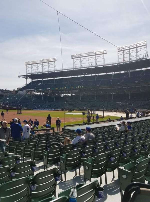 Wrigley Field, section: 8, row: 15, seat: 7