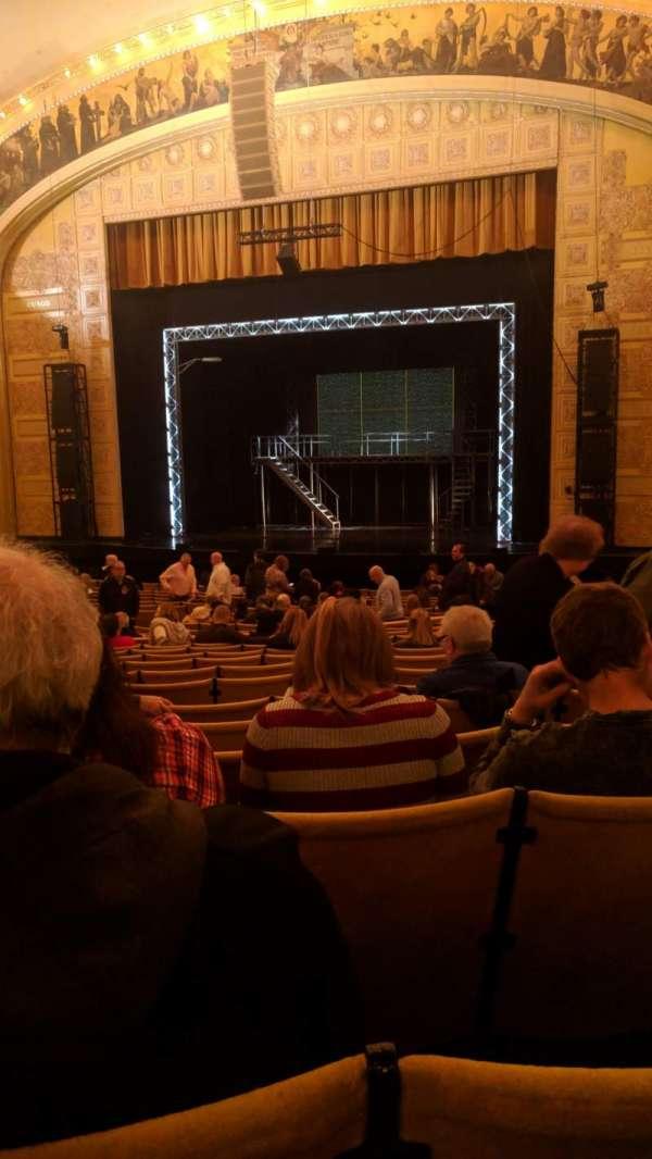 Auditorium Theatre, row: AA, seat: 107