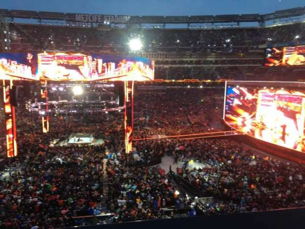 MetLife Stadium, section: 212, row: 1, seat: 19