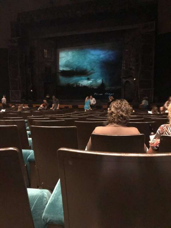 Music Hall at Fair Park, section: C ORCH, row: P, seat: 5