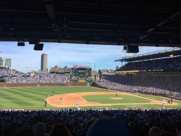 Wrigley Field, section: 210, row: 13, seat: 10