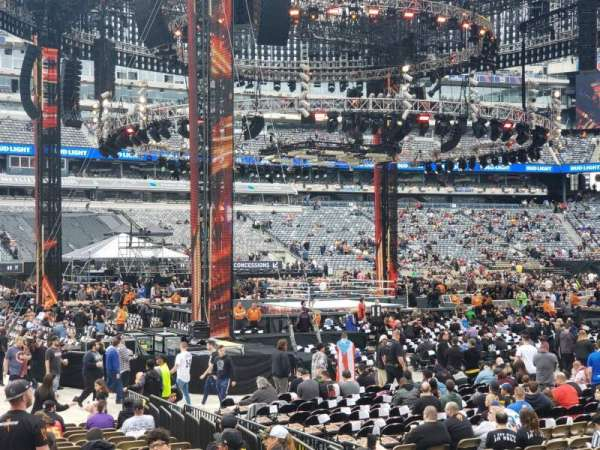 MetLife Stadium, section: 115A, row: 7, seat: 4