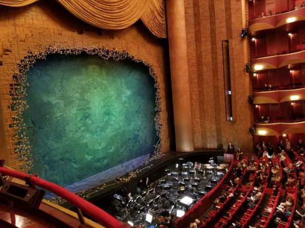 Metropolitan Opera House - Lincoln Center, section: Grand tier, row: Box 33, seat: 1