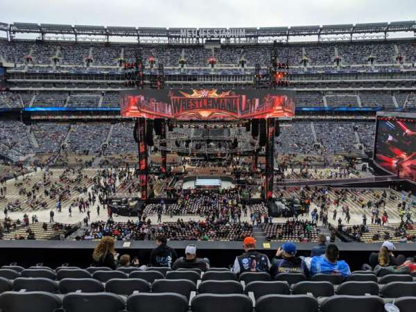 MetLife Stadium, section: 213, row: 7, seat: 11