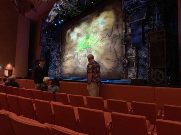 ASU Gammage, section: Orchestra Right, row: 4, seat: 46