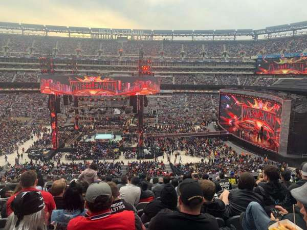 MetLife Stadium, section: 212, row: 12, seat: 20