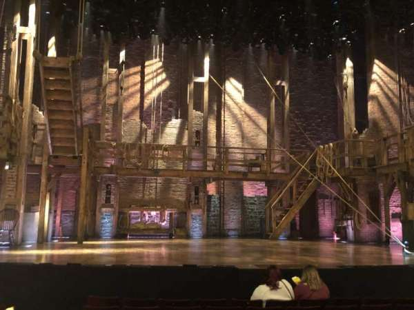 Richard Rodgers Theatre, section: Orchestra Center, row: J, seat: 11-13
