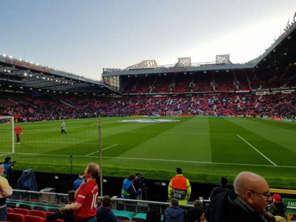 Old Trafford, section: E137, row: L, seat: 57