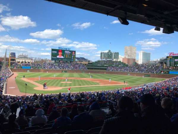 Wrigley Field, section: 220, row: 9, seat: 11