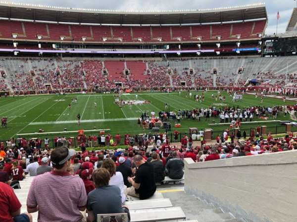 Bryant-Denny Stadium, section: F, row: 35, seat: 6