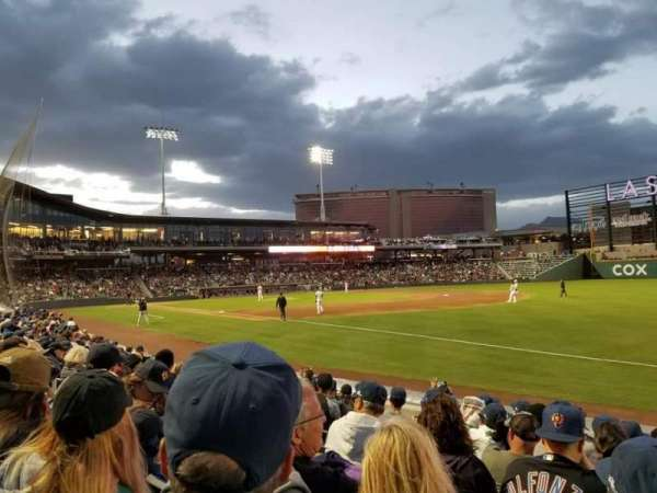 Las Vegas Ballpark, section: 103, row: H, seat: 11