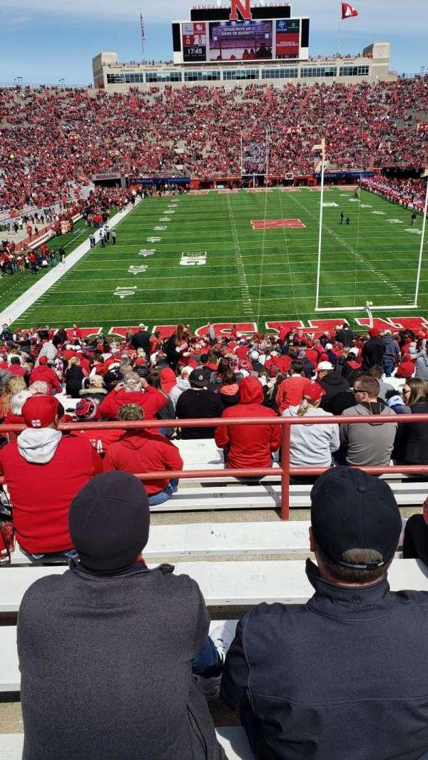 Memorial Stadium (Lincoln), section: 16-C, row: 46, seat: 15