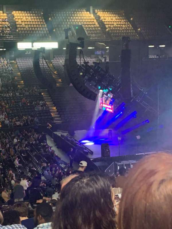Royal Farms Arena, section: 210, row: K, seat: 14