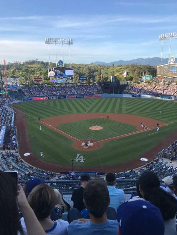 Dodger Stadium, section: 2RS, row: E, seat: 10