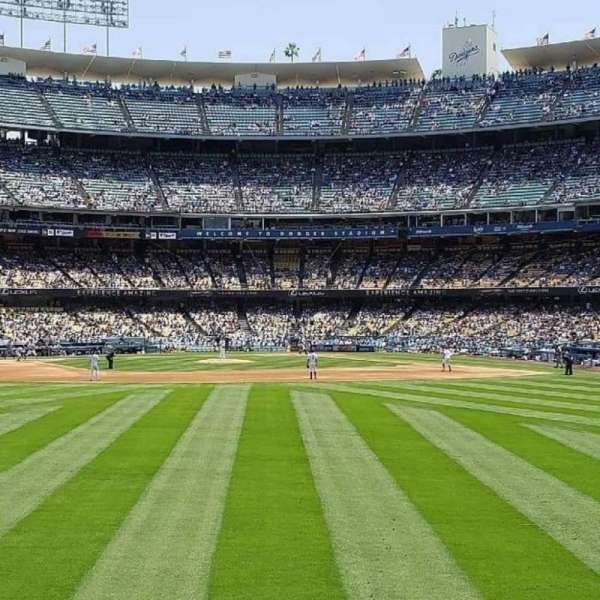 Dodger Stadium, section: 307PL, row: A , seat: 5