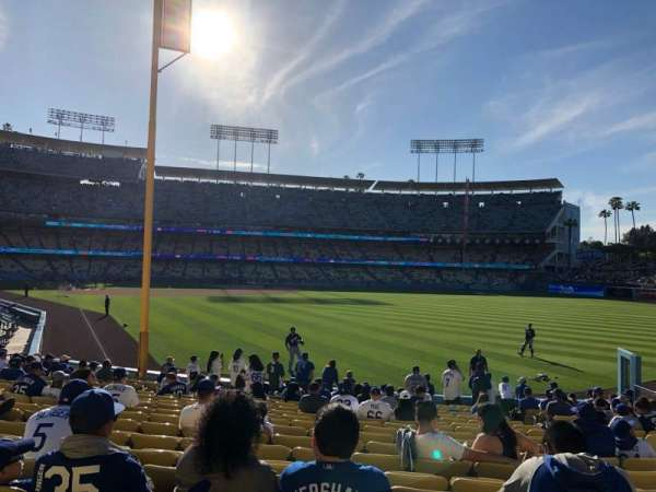 Dodger Stadium, section: 50Fd, row: S, seat: 15