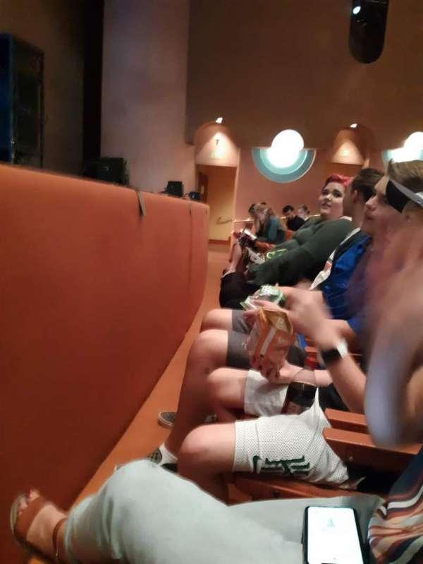 ASU gammage , section: Vip, row: 1, seat: 6
