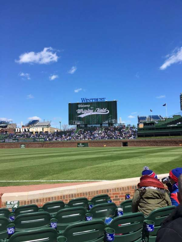 Wrigley Field, section: 30, row: 6, seat: 1