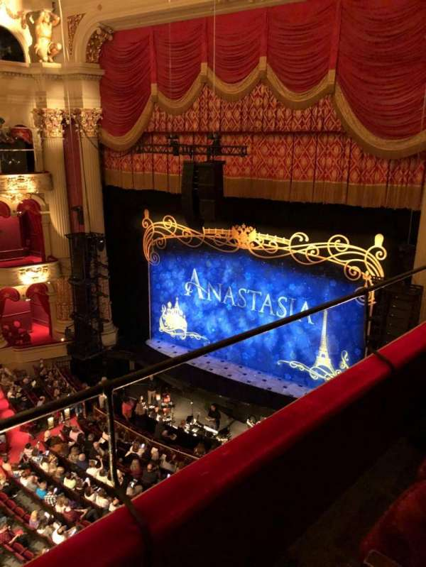 Academy of Music, section: Family Circle B, row: B, seat: 34