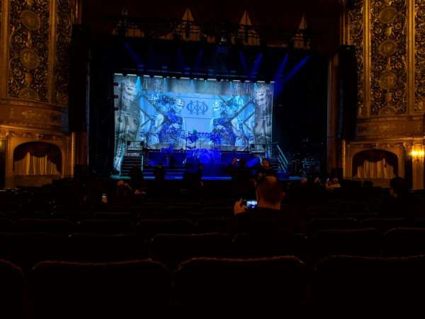 Warner Theatre (Washington, D.C.), section: Orchestra, row: Q, seat: 120