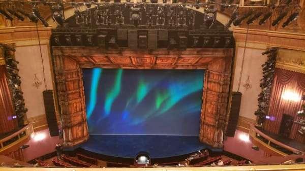 St. James Theatre, section: Balconu, row: 3, seat: 106