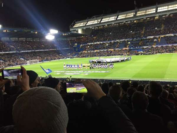 Stamford Bridge, section: West stand lower 2, row: 30, seat: 53
