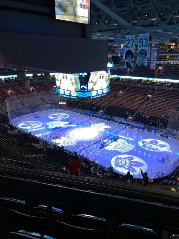 Scotiabank Arena, section: 306, row: 16, seat: 20