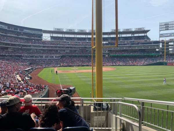 Nationals Park, section: 137, row: LL, seat: 2