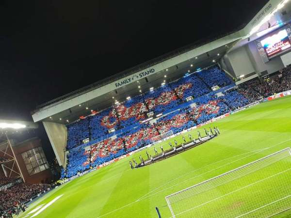 Ibrox Stadium, section: CF3, row: S, seat: 92