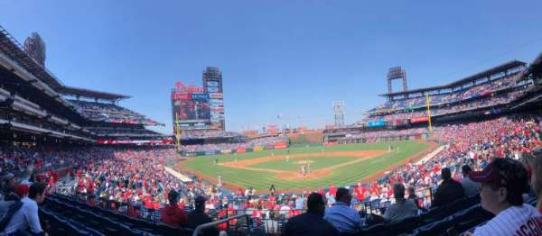 Citizens Bank Park, section: 123, row: 25, seat: 11,12