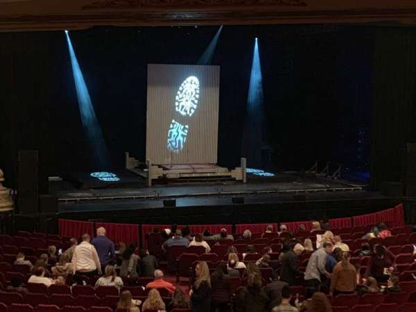 Nederlander Theater, section: Dress Circle, row: A, seat: 247